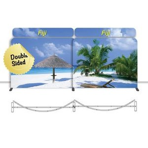 New Yorker Display - Fiji 20 Ft. Double Sided