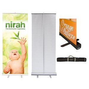 "Econo Roll Retractable Banner Stand w/ Graphic - 36""x80"""