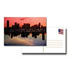 "16 Point Postcard with UV 4/4 Full Color (2.5""x2.5"")"