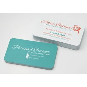 Matte Finish 16 Point Business Card w/ Rounded Corners