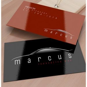 16 Point Business Card with Full UV Front